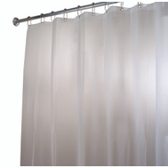 InterDesign 14752 Shower Curtain/Liner Frost