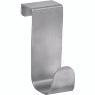InterDesign 29420 Forma Over The Cabinet Hook Brushed Stainless Steel