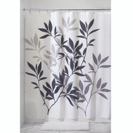 InterDesign 35620 Shower Curtain Leaves 72X72