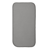 InterDesign 41261 18 Inch By 9 Inch Pewter And Ivory Drying Mat