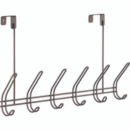 InterDesign 44003 Interdesign 44003 Over The Rod Hook, 18-3/4 In L X 5 In W X 10-3/4 In H, Bronze