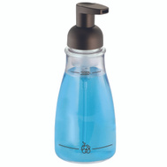 InterDesign 50104 Pump Soap Foaming Clear/Bronze