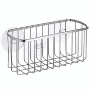 InterDesign 69002 Chrome Suction Rectangular Basket