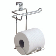 InterDesign 69030 Classico Over The Tank Toilet Paper Holder Chrome