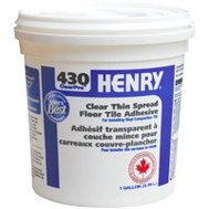 WW Henry 12337 Clearpro Tile Adhesive Thin Spread 3.78L