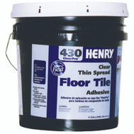 WW Henry 12102 Clearpro Thin Spread Tile Adhesive Clear 4 Gallons Number 430