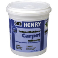 WW Henry 12185 Carpet Adhesive Exterior 1 Gallon Number 663