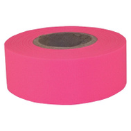 Hanson 17006 Tape Flag Pink 5M 1-3/16X150in