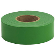 Hanson 17026 Tape Flag Grn 1-3/16inx300ft