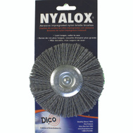 Dico 541-772-4 Nyalox 4 Inchgry Crs Mounted Wheel