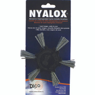 Dico 541-776-4 Nyalox 4 Inch Grey Course Flap Brush