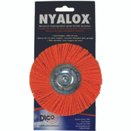 Dico 541-778--4 Nyalox 4 Inch Orange Medium Mounted Wheel