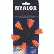 Dico 541-782-4 Nyalox 4 Inchorange Med Flap Brush