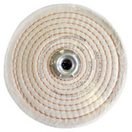Dico 527-40-6 6 Inch Spiral Sewn Buffing Wheel