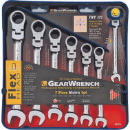 GearWrench 9900 Wrench Gear Set 7Pc Met Flex