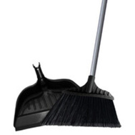 Simple Spaces 2132X Broom Angle W/Dustpan Lg 15in