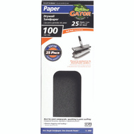 Ali 4262 Gator 4-1/4 By 11 1/4 Inch Drywall Sandpaper 100 Grit Medium Silicon Carbide