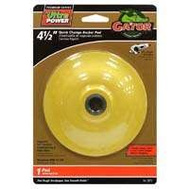 Ali 3873 Gator 4-1/2 Inch Quick Change Backer Pad For Angle Grinders