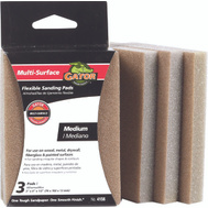 Ali 4156 Gator 3 By 4 By 1/2 Inch Flexible Sanding Pad 80 Grit Aluminum Oxide 3 Pads
