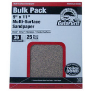 Ali 4207 Gator 9 By 11 Inch Multi Surface Sandpaper 150 Grit Aluminum Oxide 25 Sheets