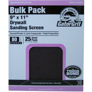 Ali 4254 Gator 9 By 11 Inch Drywall Sanding Screen 80 Grit Silicone Carbide 25 Sheets