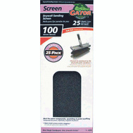Ali 4259 Gator 4-1/4 By 11 1/4 Inch Drywall Sanding Screen 100 Grit Medium Silicon Carbide 25 Sheets
