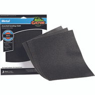 Ali 4447 Gator 9 By 11 Inch Emery Cloth Assorted Grits 3 Sheets