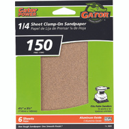 Ali 5031 Gator 4-1/2 By 5-1/2 Inch Multi Surface Sandpaper 150 Grit Aluminum Oxide 6 Sheets