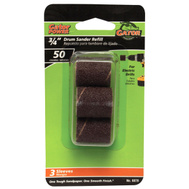 Ali 6078 Gator 3/4 By 1 Inch Drum Sander Refill 50 Grit Aluminum Oxide 3 Sleeves