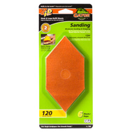 Ali 7206 Gator Zip Sander Refill Sanding Sheets Hook And Loop 120 Grit Aluminum Oxide 6 Sheets