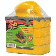 Ali 7232 Gator Zip Step 123 Sanding Sponge Holder Kit With 1 Holder And 4 Assorted Grit Sponges