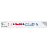 Lenox 22761OSB610R Blade Recip Wood/Mtl 10Tpi 6In
