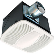 Air King AK100L 80 Cubic Foot Per Minute Quiet Lighted Exhaust Fan