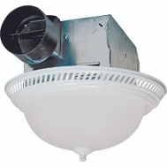 Air King DRLC703 Fan/Light Bath Combo 70Cfm Wht