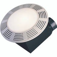 Air King AK863L Fan Bath Round/Night Lt 100Cfm