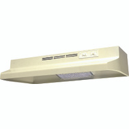 Air King AD1305 Advantage 30 Inch Range Hood 180 Cubic Foot Per Minute Almond