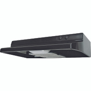 Air King QZ2306 Quiet Zone 30 Inch Black Range Hood