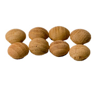 Eazypower 39447 Isomax Contractor Quality 3/4 Inch Oak Button Pack Of 8