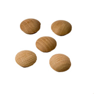 Eazypower 39449 Contractor Quality 1 Inch Oak Button Pack Of 5