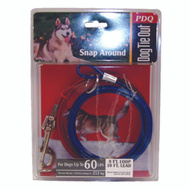 Boss Pet Q251500099 Tie Out Dog Snap Around