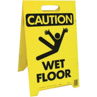 Hy Ko PFS-11 Sign Floor Caution 2 Sided