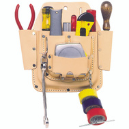 Custom Leathercraft W438 T Electricians Tool Pouch