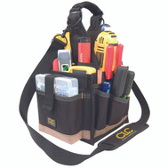 Custom Leathercraft 1526 23 Pocket 8 Inch Electrical And Maintenance Tool Carrier