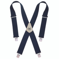 Custom Leathercraft 110BLU Heavy Duty Blue Web Suspender