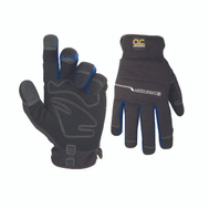 Custom Leathercraft L123L Workright Winter Synthetic Leather Lined Winter Gloves Large