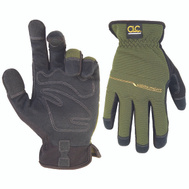Custom Leathercraft 123M Workright Synthetic Leather Gloves Medium