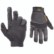 Custom Leathercraft 125L Handyman Flex Grip High Dexterity Work Gloves Large