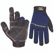 Custom Leathercraft 126L Workright Extra Coverage Synthetic Leather Gloves Large