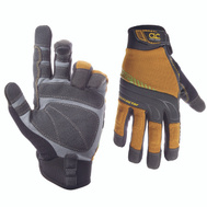 Custom Leathercraft 160L Extra Coverage Flex Grip Work Gloves Large