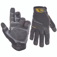 Custom Leathercraft 173XL Synthetic Leather Polyester Lined Work Gloves Extra-Large